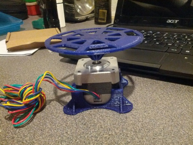 David 3D-Scanner Arduino Turntable by jbowling