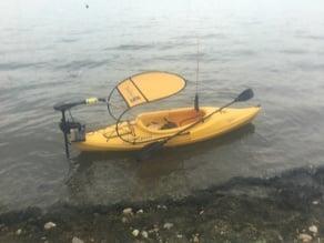 waterquest Aruba 10 kayak transom contour plate