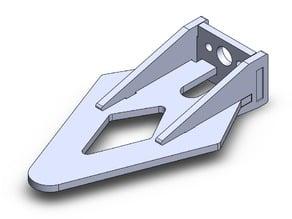 Delta wing motor mount