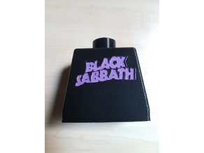 custom Black sabbath tee shirt for Giant Lego by Skimbal !