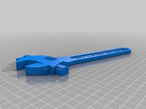 Fully Assembled, Customizeable 3D Printed Wrench V2