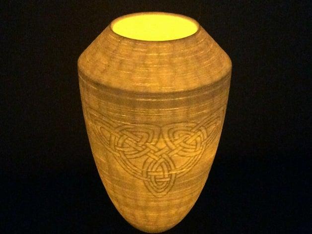 Celtic Vase By Gabrielguzman Thingiverse