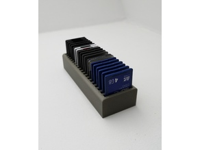 20 SD Card Holder