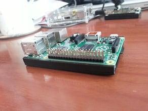 Minimal case / base for Raspberry Pi model B+