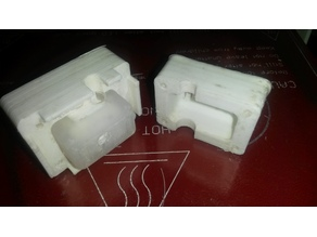 Silicone sock mold for Geeetech i3 original heating block