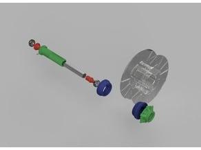 TAZ 6 Spool Holder Shaft