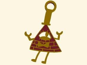 Bill Cipher Keychian