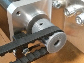 T5 Z10 Pulley with two set screws