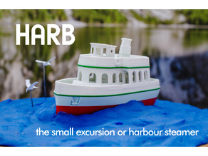 HARB - the small excursion or harbour steamer