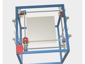 JNHL3DL Cube Printer (Flsun Cube Upgrade w/ Ultimaker Kinematics Style)