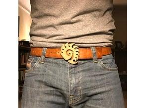 Zerg Emblem Belt Buckle