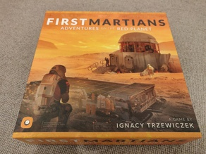 First Martians - Adventures on the Red Planet - game insert
