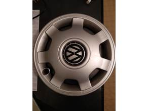 VW Polo 6N Wheel Cover Center Logo