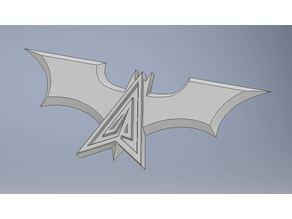 batman and green arrow logos