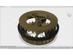Bevel Gear Demo (Instructables Competition)
