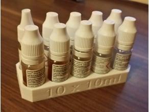 Liquid stand 10 x 10ml