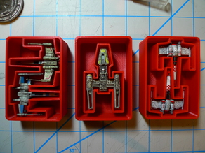 X, Y, and Z-95 Bins for Harbor Freight Organizer (X-Wing TMG)