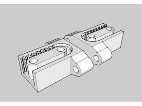 GT2 belt tensioner