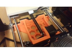 Frame brace with y axis motor mount for Anet A8