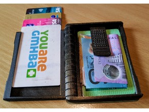 Folding Wallet Remix Now with Money Clip