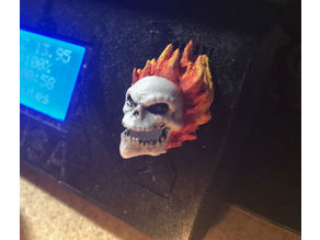 Prusa i3 - Selector Knob - Super Hero - Ghost Rider