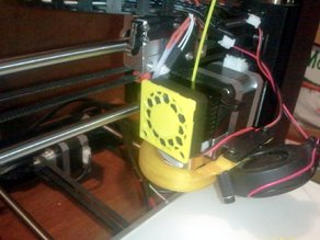 40mm Extruder fan grille (Wanhao Di3/Maker Select)