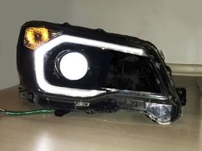 "Subaru Forester XT 14-16 3"" Hella e55 Bi-xenon Projector retrofit Headlight House extender"