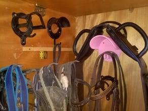 Horse Bridle Rack / Trensenhalter