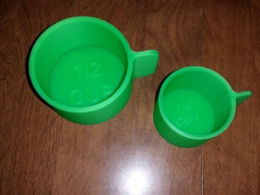 Measuring Cups 1/4 and 1/2 Cups