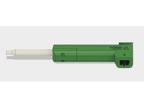 Open source 3D-printed 1000 μL micropump