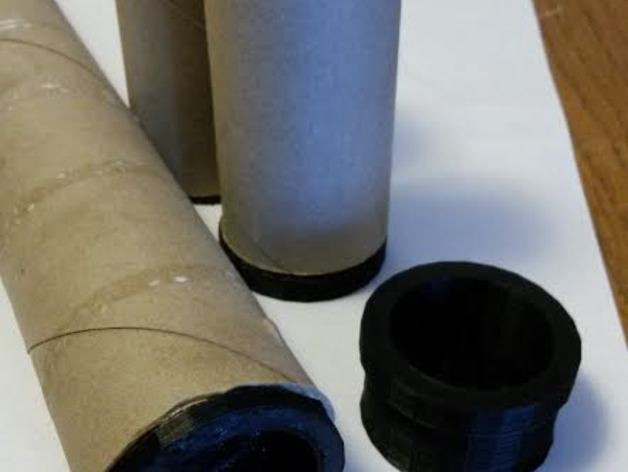 toilet paper roll spool adapter by lizhavlin