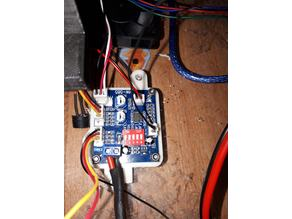 12V PWM fan controller mount