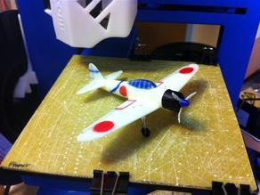 A6M2 Zero Fighter Desktop Model
