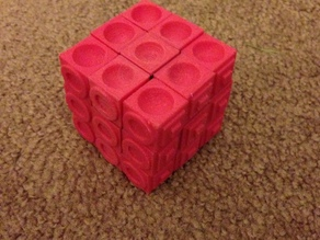 Rubiks cube for the blind (using original Rubiks core)
