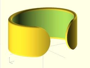 Flat Open Bracelet