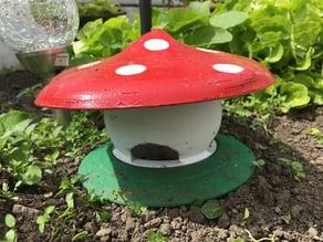 Slug trap Mushroom