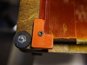 Printrbot LC Glass Clip