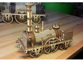 Adler Steam Locomotive