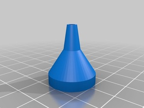 Long Neck Funnel (Parametric)
