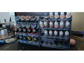 Miniature Paint Shelves