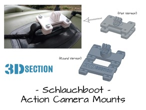 Dinghy Action Camera Mounts (Sevylor Schlauchboot)