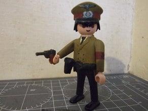 Playmobil Compatible Luger P08 Pistol
