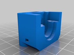 Remix of Prusa i3 Direct Drive Bowden Extruder for all Jhead types