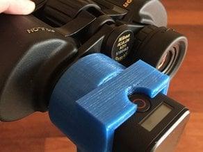 HERO4 Session binocular adapter