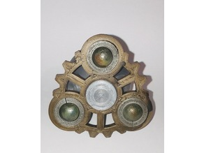 Gear spinner w bearing weights MkII (smaller)