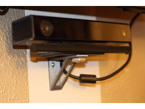 Customizable Xbox One Kinect Wall Mount