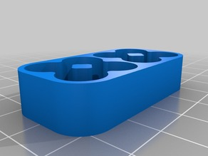 Rounded 8 AAA battery holder