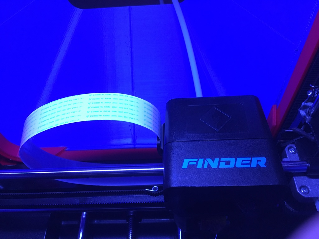 Flashforge Finder TOP Cover by HydraHimera - Thingiverse
