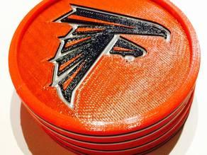 Atlanta Falcons Coaster Coaster