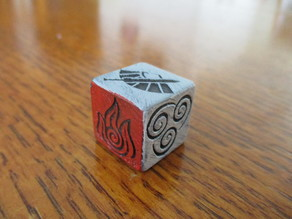 Avatar The Last Airbender 6-Sided Dice